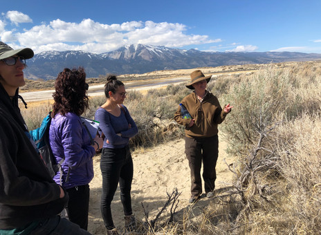 Guest Blog: Take a Hike...at Washoe Lake State Park!