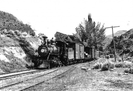The Railroad and Ranches in Washoe Valley