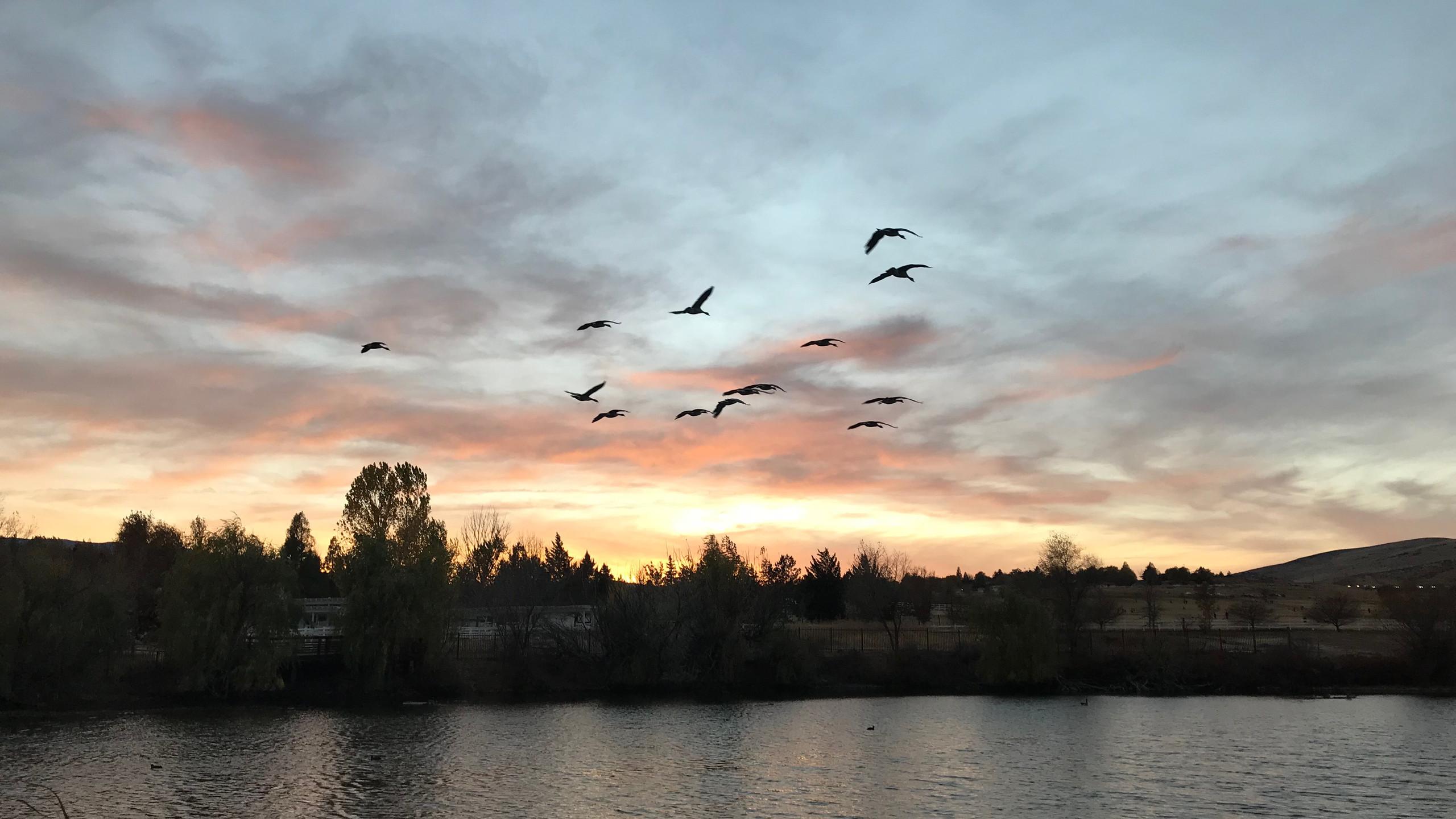 Sunset at Rancho San Rafael