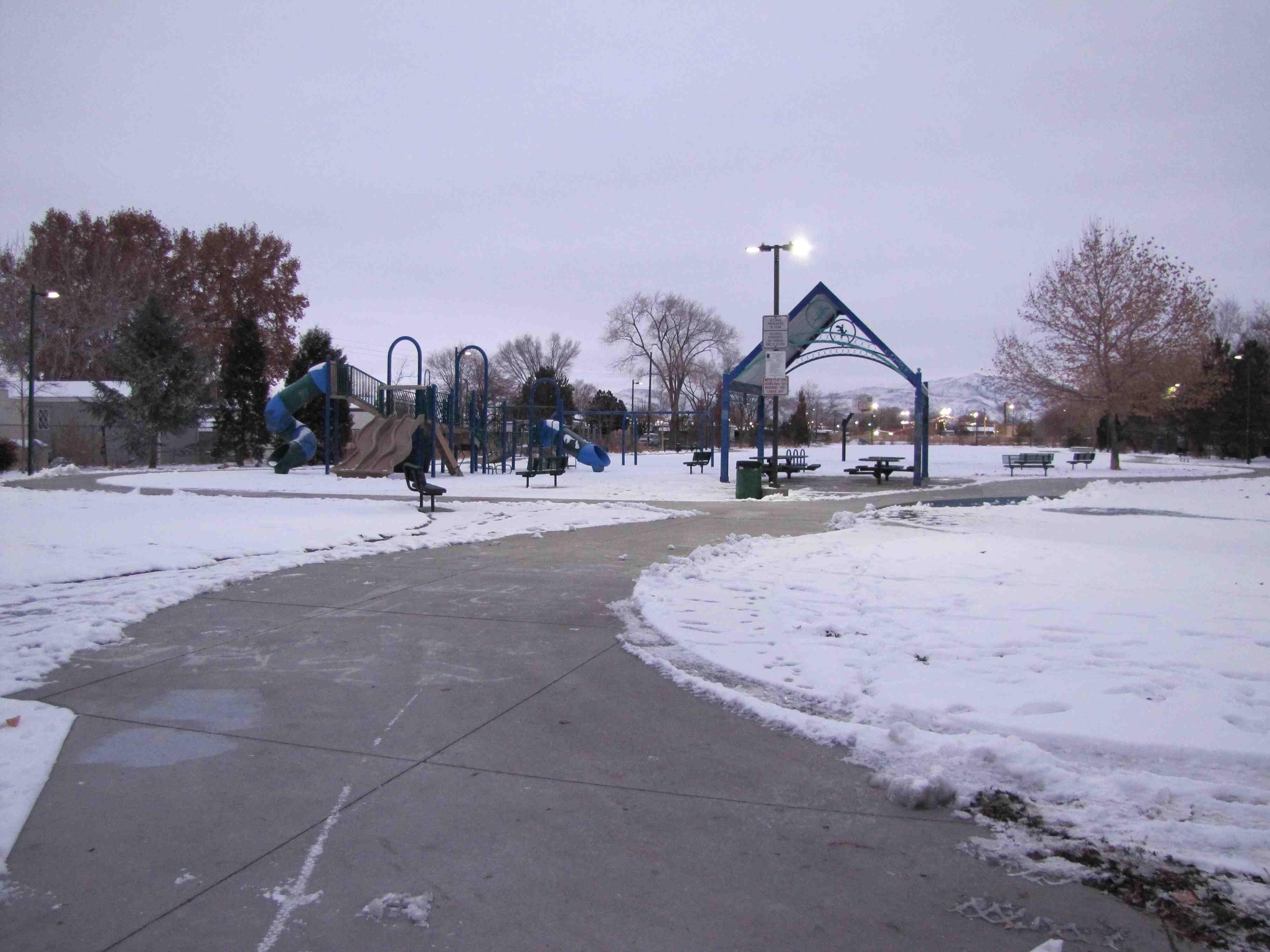 1 Yori Park Site 1 Winter 2013 (Low)