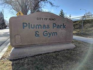 plumas park sign