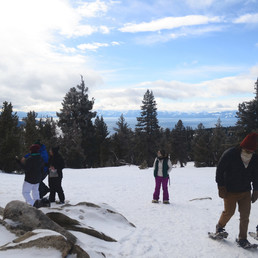Snowy Adventures Around Tahoe Meadows