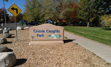 crissie-caughlin-park sign
