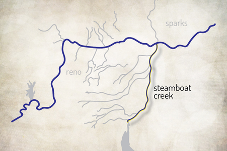 The Steamboat Ditch Trail