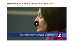 Senator Rosen at Rosewood Nature Study [Area]