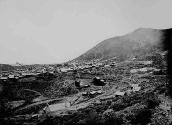 Virginia City in 1867