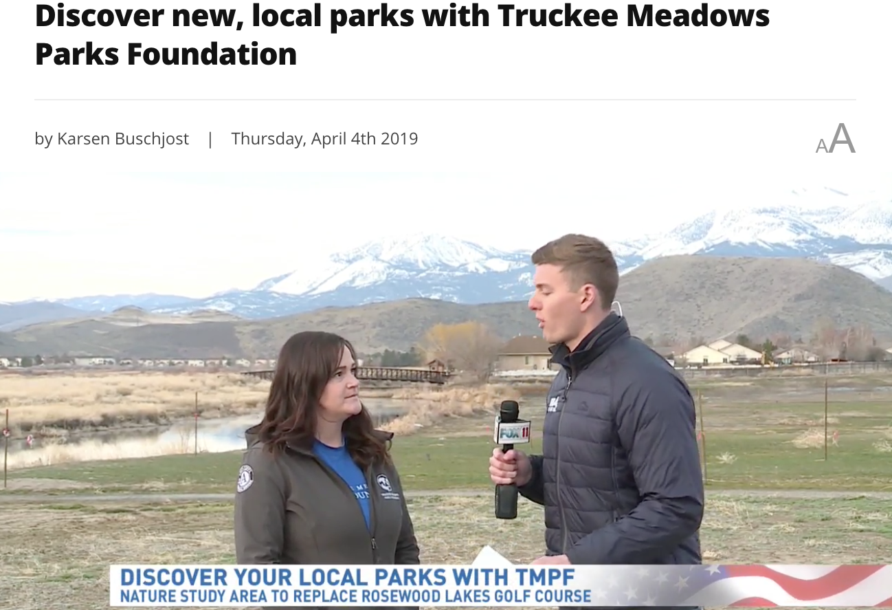 Discover new, local parks with Truckee Meadows Parks Foundation