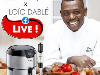 Live Cuisine Moulinex x Loïc Dablé