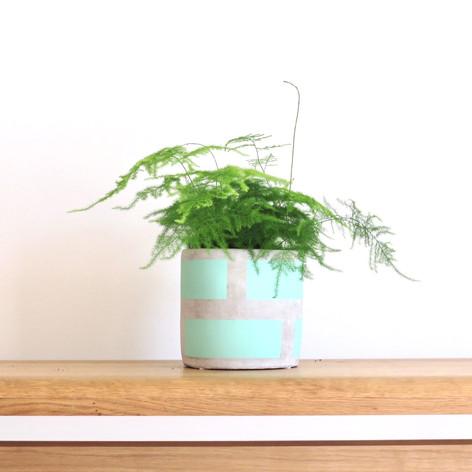 Block Pot in Mini
