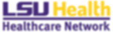 LSUHealth_Healthcare Network_Horz__Purpl