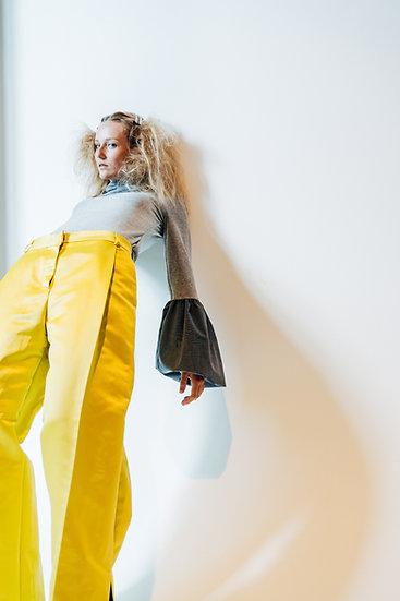 GLORIA PANTS - Yellow