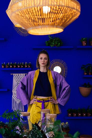 IRIS KIMONO - Lavender