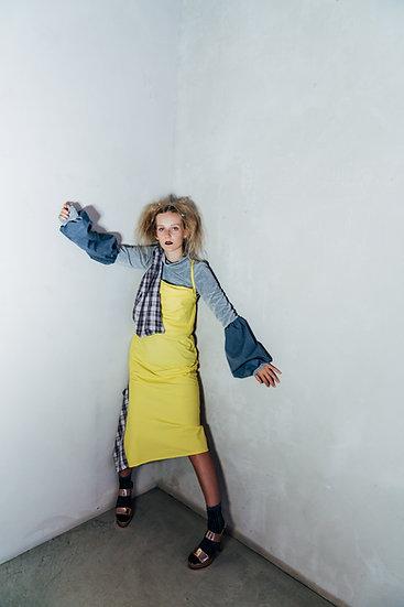 MAYA DRESS - Yellow