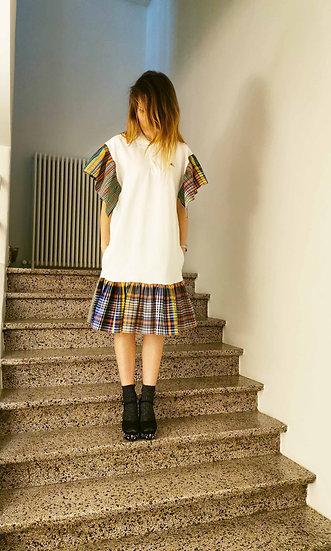 Polo dress PLAY - White