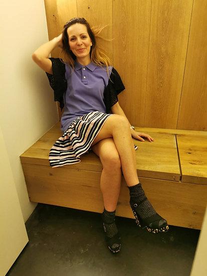 Polo dress PLAY - Purple