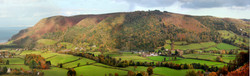 Porlock Vale from Ley Hill