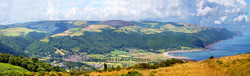 Vale of Porlock from North Hill