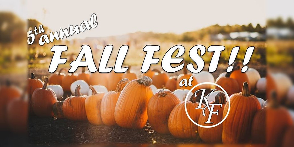 5th Annual Fall Fest Day 1!