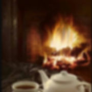 Cuppa by the fire