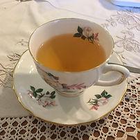Tea in a Bone China Cup
