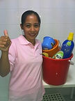 Myanmar Maid with Cleaning Kit