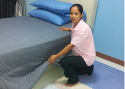 Trg Bed making