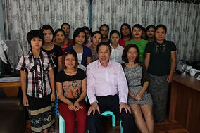 Posed Photo 12 Myanmar Maids