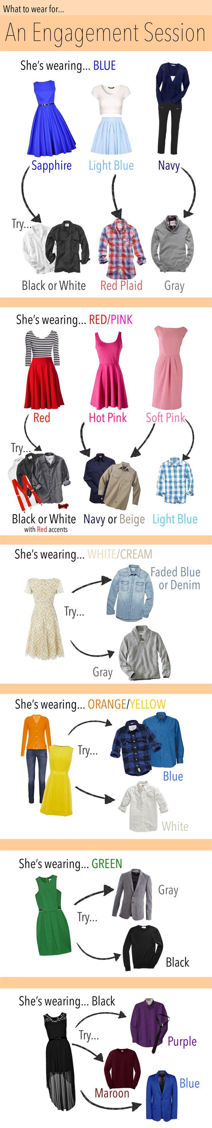 מה ללבוש לצילומים