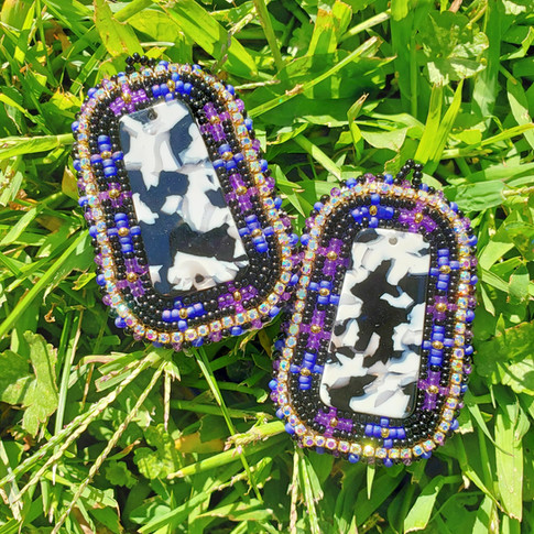 Beaded Earrings #19
