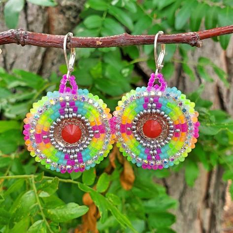 Beaded Earrings #9