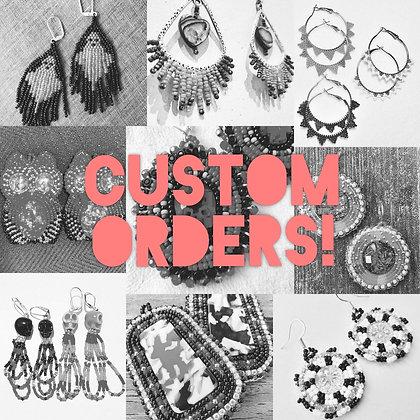 Custom Beadwork for You!