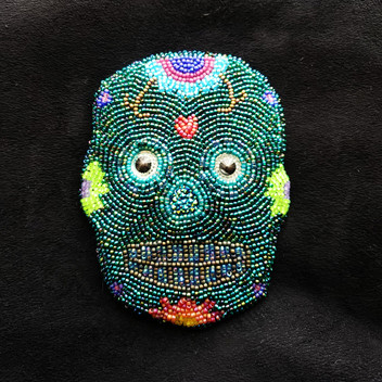 Sugar Skull Hairclip