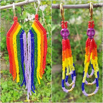 Beaded Earrings #11