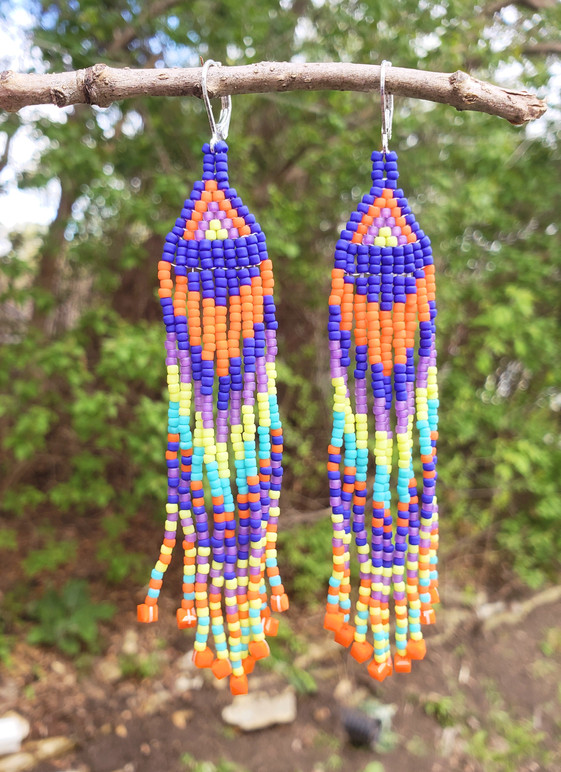Beaded Earrings #12