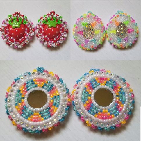 Assorted Beaded Earrings