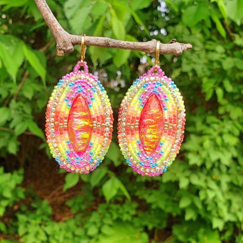 Beaded Earrings #8