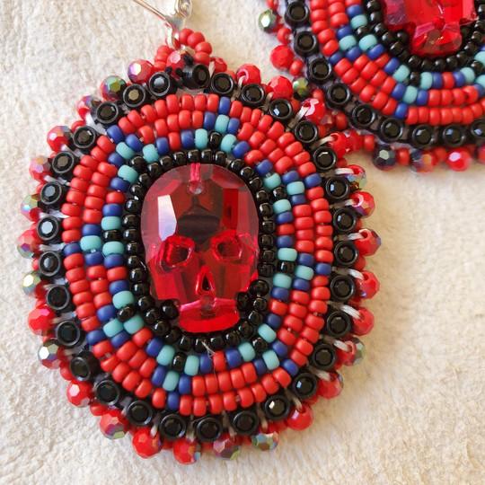 Beaded Earrings #22