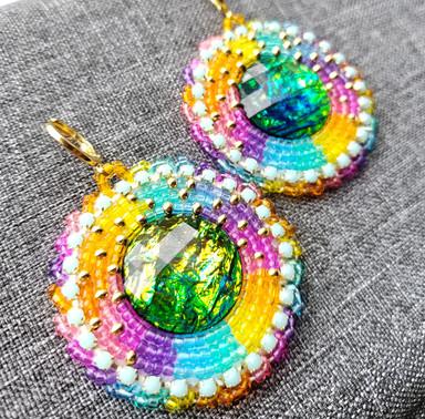 Beaded Earrings #10