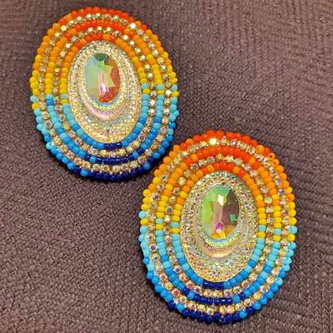 Beaded Earrings #20