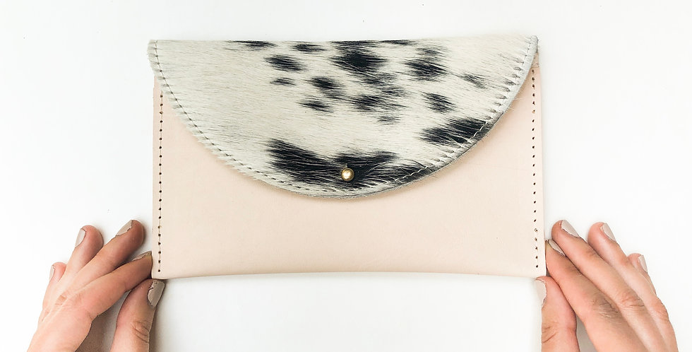 Wholesale | Luna Belt Bag - Natural & Hair on cowhide