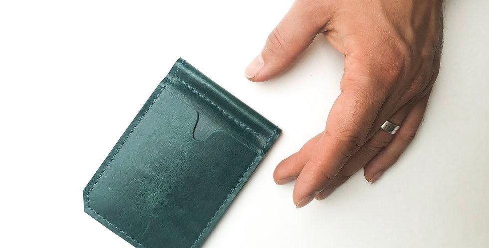 Wholesale | The Winston w/ Money Clip - Emerald Green