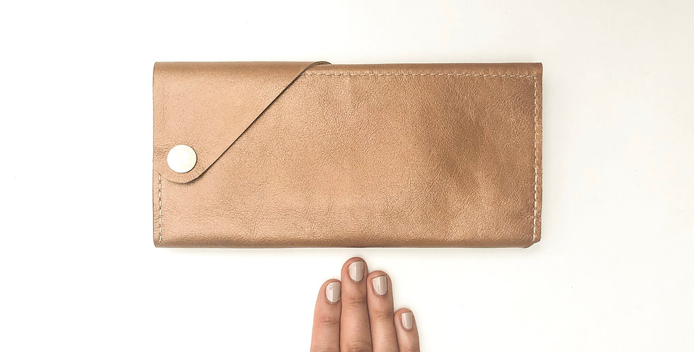 The Constance - Smartphone Wallet - Champagne