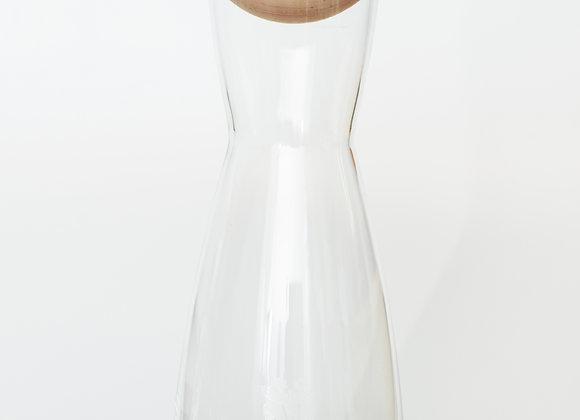 Zirbenholzkugel inkl. Glaskaraffe