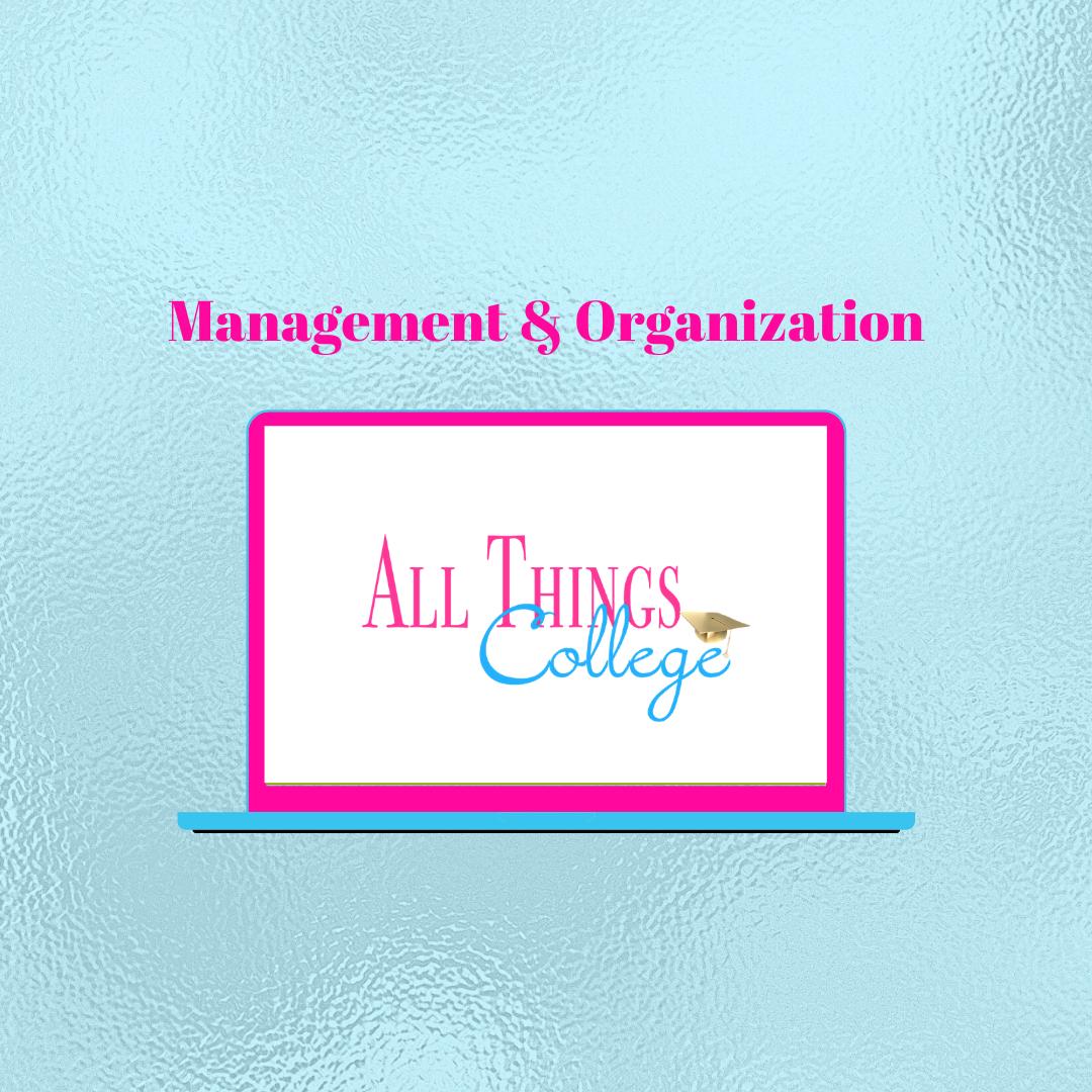 Management & Organization