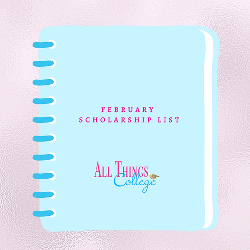 February Scholarship List