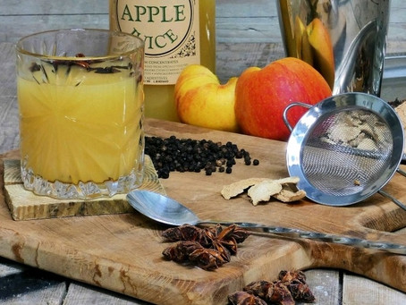 Something Different This Christmas: Hot Apple Gin