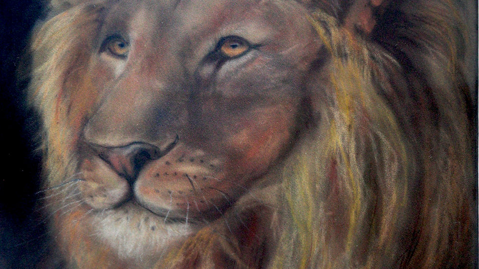 King of the Jungle- Painting