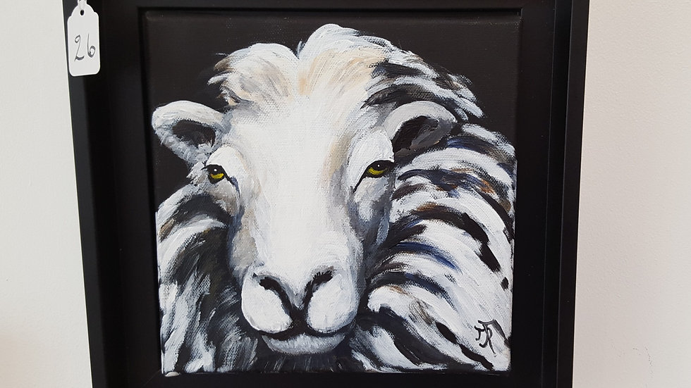 Ram's Head- Painting