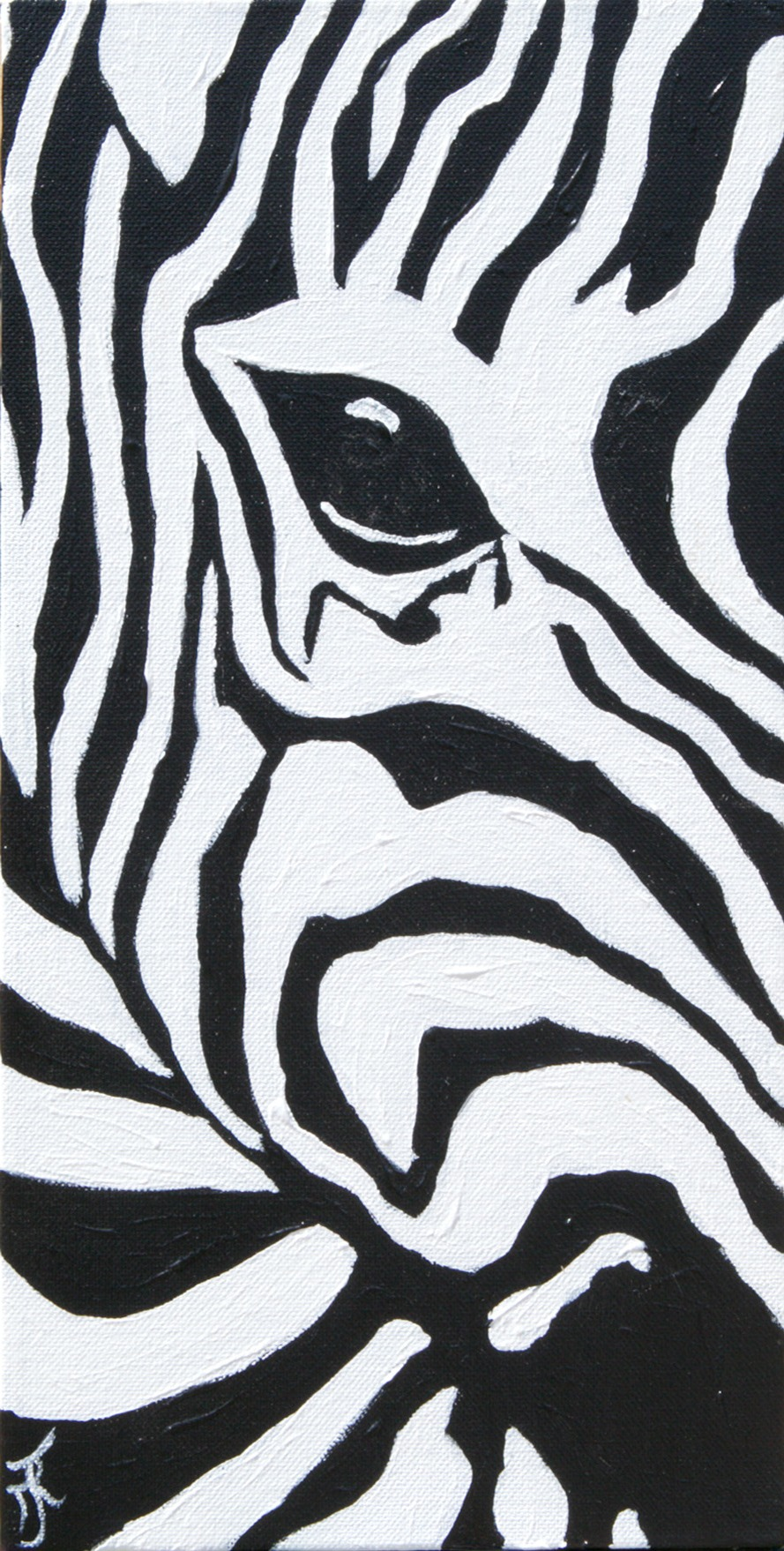 zebra head 3