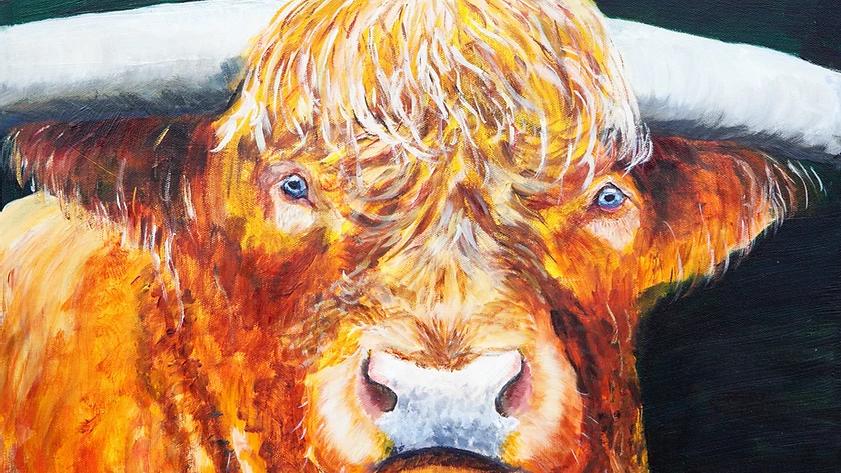 Glen Coe- Painting